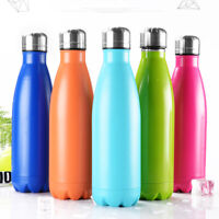 500ml Water Bottle Vacuum Insulated Thermal Metal Sports Chilly Flask Warm Cup