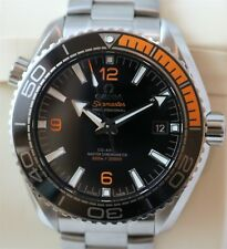 Omega Seamaster Planet Ocean 600M Co-Axial 8900 Black & Orange Bezel Wrist Watch