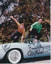 GEORGE MAHARIS & MARTIN MILNER signed autographed ROUTE 66 photo