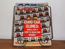 CAR MAGAZINE JUL-1990 - Rover Metro, Mercedes 300SL R129, Fiat Uno, Alfa Spider