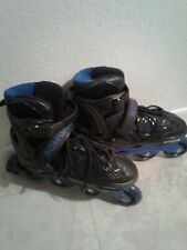 Schwinn Quality Blue In-line Skates adjustable size 8-9. Used once.
