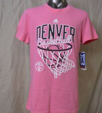 adidas NBA Youth Girls Denver Nuggets Basketball Shirt NWT $18 L, XL