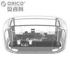 "ORICO 2.5/3.5"" Transparent USB 3.0 to SATA External Hard Drive Docking Station"