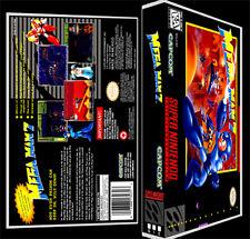 Mega Man 7 - SNES Reproduction Art Case/Box No Game.
