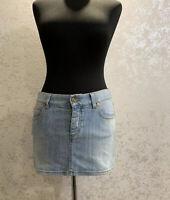 Gucci Mini Skirt Denim Floral Size 38