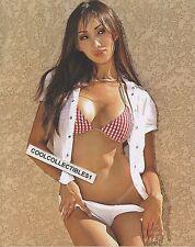 "KATSUNI 8X10 COLOR PHOTO ""ASIAN ADULT FILM STAR""  SEXY IN BIKINI"