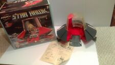 Vintage Ideal 1977 Zeroid Star Hawk Spaceship MIB Working Beautiful