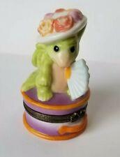 """""""Ladies Hat Box"""" Trinket Box *Signed* Pocket Dragons Real Musgrave no Box"""