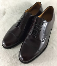 Cole Haan Caldwell Burgundy Leather Oxford Cap Toe Dress Shoes 08331 Men's 11D