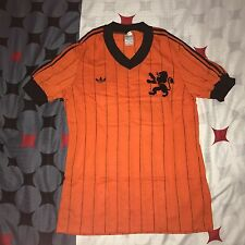 VINTAGE ADIDAS HOLLAND NETHERLANDS 1982 FOOTBALL SHIRT NEW BNWOT
