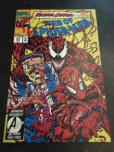 "Web Of Spider-man#101 Awesome Condition 7.0(1993)""Maximim Carnage"""