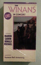THE WINANS IN CONCERT LIVE !  VHS VIDEOTAPE