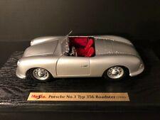 1/18 Porsche 356 No. 1 1948 silver Maisto 32853 new with box