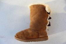 Ugg Australia Bailey Bow Tall Boots Size 5 Chestnut 1007309Y EU 35