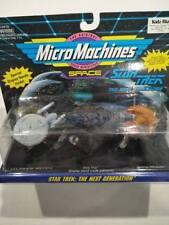 CBNIB Star trek Micro Machines 3pk ships Enterprise Borg Cube Ferengi Marauder