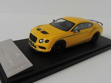 Bentley Continental GT3 R 2015 1/43 Almost real 430404 MONACO YELLOW CHINE
