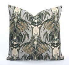 Liberty Art Heritage Grey Lilac Luxury Vintage Cushion Pillow Cover