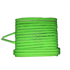 Mr Lacy Roundies - Neon Green Round Shoelaces - 130cm Length 4mm Width