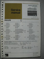 Philips 50 IC324 Kofferradio Service Manual