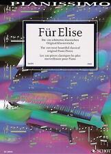 Klavier Noten : Für Elise - Die 100 schönsten Original Klavierstücke - HEUMANN