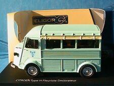 Citroën Type H Fleuriste Décorateur 1/43 ELIGOR