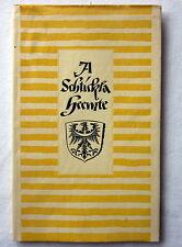 A SCHTIKLA HEEMTE - Gedichte in schlesischer Mundart - B. von Richthofen
