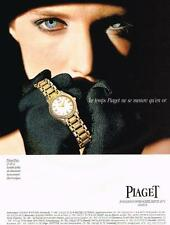 PUBLICITE ADVERTISING   1994    PIAGET   COLLECTION  montre POLO