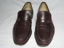 Vtg Florsheim Imperial Burgundy Red Slip On Loafer Moc Toe Shoes USA Made Sz 13B