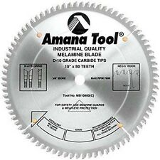 Amana Plywood Melamine & Laminate Saw Blade MB10800-30 fits Striebig