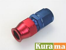 """AN6 AN-6 Female to 3/8"""" 0.375"""" Aluminum Fuel Hose Tube Straight Fittings Adapter"""