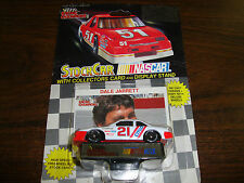 Dale Jarrett---1:64 Scale Diecast---Petty Back---With Card & Stand---1991