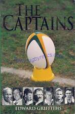 "South Africa  - ""The Captains"" by Edward Griffiths 2001 Rugby Book Signed + COA"