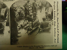 Stereoview Stereoscope Card of World War 1 WWI #15 Reprint 1978
