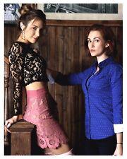 "* WYNONNA EARP *(Waverly)""Dominique Provost-Chalkley"" & Nicole 8x10 Glossy Print"