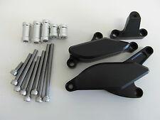 KAWASAKI ZX10R 08 09 10 CNC protection des moteurs curseur du moteur Noir