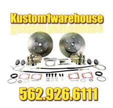 Rear disc brake conversion kit for 68-72 VW 5 lug Chevy w/emergency parking