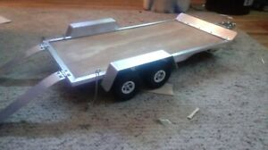 1/10 SCALE RC CUSTOM trailer JC TRAILERS 10x20
