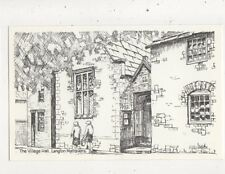 The Villag Hll Langton Mataves Warren Hitchins Postcard 938a