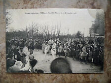 US ARMY FIELD CENSOR A.1143 - 22 DEC 1918 WW1 FRENCH SOLDIERS IN TRIUMPH