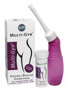 Multi Gyn Intimate Wash Vaginal Irrigator Douche & 10 Tablets Intimate Hygiene
