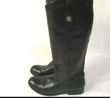 FRYE Boots size 6 ladies womens BLACK TALL FAST SHIP NICE SHOES FOOTWEAR