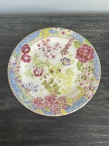 "Gien Millefleurs Salad Dessert Plate  8.5""/21.5cm"