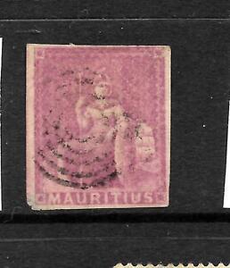 MAURITIUS 1858-62   9d  MAGENTA  FU   SG 29