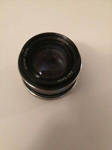 Carl Zeiss sonnar 85mm 1:2.8 (Rollei QBM mount) Camera Lens