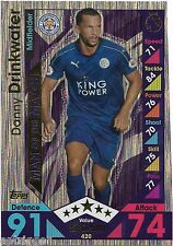 2016 / 2017 EPL Match Attax Man of the Match (420) Danny DRINKWATER Leicester