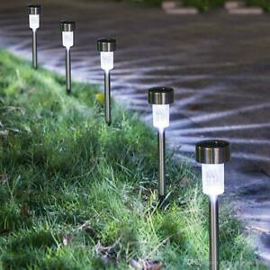 10 PACK Solar Stakes Pathway Lights LED Westinghouse Outdoor Stainless steel