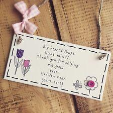 Teacher Gifts Thank you Pre School Nursery Leaving Present Valentine's Easter