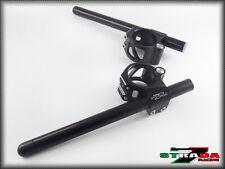 Strada 7 RACING CNC ATTACHE GUIDON SUZUKI GSXR1000 2005 - 2014 50mm Noir