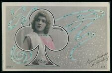 Art Nouveau photomontage Theater theatre Edwardian 1900s photo postcard