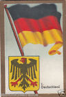 Deutschland Germany DRAPEAU FLAG IMAGE CARD 30s